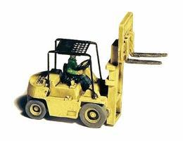 GHQ 1980s-Era Forklift (Unpainted Metal Kit) N Scale Model Railroad Vehicle #53016