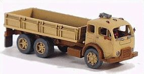 GHQ 1950 6 x 2 Low-Sided Box (Unpainted Metal Kit) N Scale Model Vehicle #56007