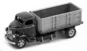 GHQ 1940s GMC Cabover Grain Truck (Unpainted Metal Kit) N Scale Model Railroad Vehicle #56018
