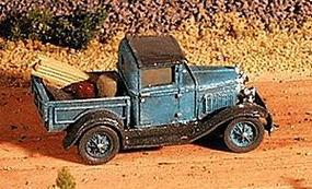 GHQ Ford 1930 Model A Pickup (Unpainted Metal Kit) N Scale Model Railroad Vehicle #57006