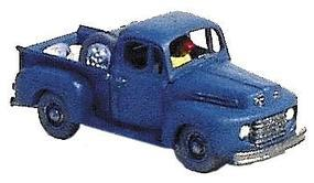 GHQ 1950 Ford F-1 Pickup (Unpainted Metal Kit) N Scale Model Railroad Vehicle #57008
