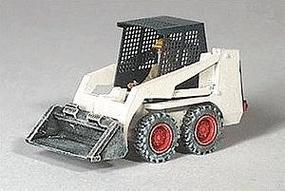 GHQ Bobcat Skid-Steer Loader (Unpainted Metal Kit) HO Scale Model Vehicle #61001