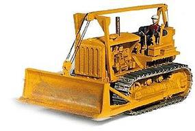 GHQ 1940s Bulldozer w/Operator Figure (Unpainted Kit) HO Scale Model Railroad Vehicle #61006