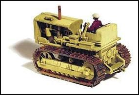 GHQ 1940s Tracked Crawler (Unpainted Metal Kit) HO Scale Model Vehicle #61011