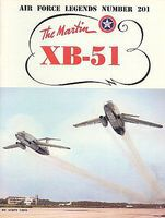 GinterBooks Air Force Legends- Martin XB51 Military History Book #201