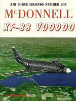 GinterBooks Air Force Legends- McDonnell XF88 Voodoo Military History Book #205
