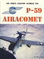GinterBooks Air Force Legends- Airacomet P59 Military History Book #208