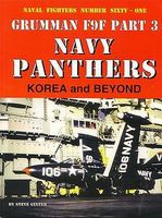 GinterBooks Naval Fighters- Grumman F9F Pt.3 Navy Panthers Korea & Beyond Military History Book #61