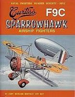GinterBooks Naval Fighters- Curtiss F9C Sparrowhawk Airship Fighter Military History Book #79