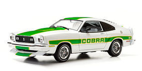 Green-Light 1978 Ford Mustang Cobra Diecast Model Car 1/18 Scale #12895