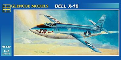 Glencoe Models Bell X-1B -- Plastic Model Airplane Kit -- 1/48 Scale -- #05120