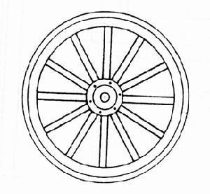Wagon Wheels 1 1 2 Diameter G Scale Model Railroad