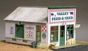 Grandt Valley Feed & Seed Store Kit HO Scale Model Railroad Building #5911