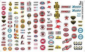 Gofer-Racing Manufacturer Sponsor Logos #1 Plastic Model Vehicle Decal 1/24 Scale #11006