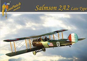 Gas-Patch 1/48 Salmson 2A2 Late Type WWI 2-Seater Biplane Fighter w/US, Polish, French markings