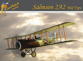 Gas-Patch 1/48 Salmson 2A2 Mid Type WWI 2-Seater Biplane Fighter w/French & US markings