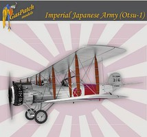 Gas-Patch 1/48 IJA Otsu1 Salmson 2A2 WWI 2-Seater Biplane Fighter w/various markings