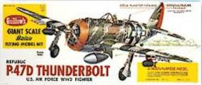 Guillows 30-1/4 Wingspan P47D Thunderbolt Kit