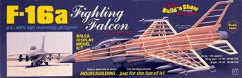 Guillows 1/30 F16 Fighting Falcon Kit