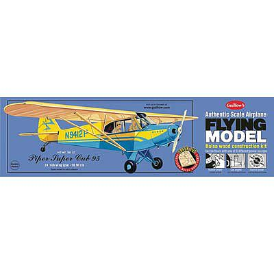 Guillows 24'' Wingspan Piper Super Cub 95 Laser Cut Kit