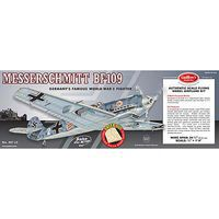 Guillows 24-3/8 Wingspan Messerschmitt BF109 Laser Cut Kit