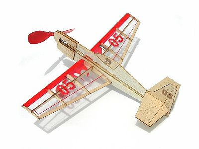 Guillows Stunt Flyer Aircraft Mini Laser Cut Kit