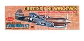 Guillows 16-1/2 Wingspan P40 Warhawk Kit