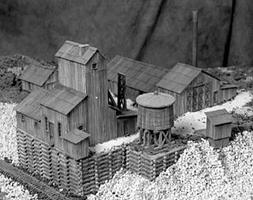 Guts Clear grit mine - HO-Scale