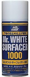 Gunze-Sangyo Mr. White Surfacer 1000 170ml (Spray)