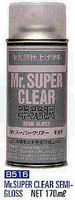 Gunze-Sangyo Mr. Super Clear Semi Gloss 170ml (Spray)