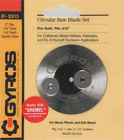 Gyros Products Co Fine Circular 2'' Blade 1/8'' Hole