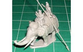 Hat Macedonian Elephant Plastic Model Military Figure Set 1/72 Scale #8141