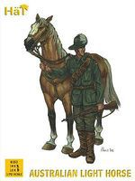 Hat Australian Light Horse Plastic Model Military Figure Set 1/72 Scale #8153