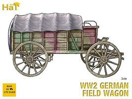 Hat WWII German Field Wagon Plastic Model Military Vehicle Kit 1/72 Scale #8261