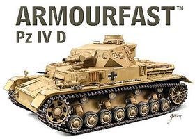 Hat Panzer IV Ausf.D Tank Kit 1/72 Scale Plastic Model Military Vehicle #99028