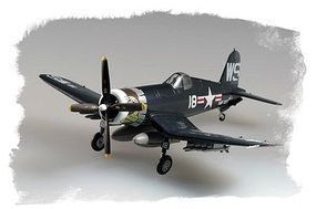 HobbyBoss Easy Build F4U-4 Corsair Plastic Model Airplane Kit 1/72 Scale #80218