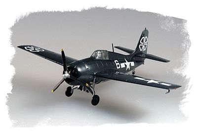 Hobby Boss Easy Build FM-2 Wildcat -- Plastic Model Airplane Kit -- 1/72 Scale -- #80222
