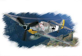 HobbyBoss BF109G-6 Early Snap Together Plastic Model Aircraft Kit 1/72 Scale #80225