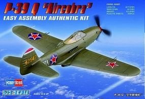 HobbyBoss P-39Q Airacobra Snap Tite Plastic Model Aircraft Kit 1/72 Scale #80240