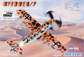 HobbyBoss BF109E-4/7 Plastic Model Aircraft Kit 1/72 Scale #80254