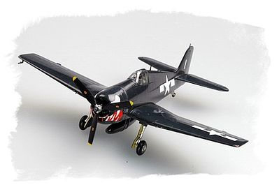 Hobby Boss F6F-5 Hellcat -- Plastic Model Airplane Kit -- 1/72 Scale -- #80260