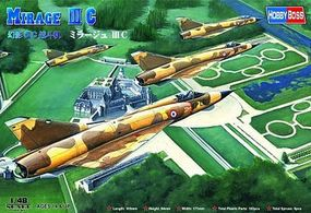 HobbyBoss Mirage III C Plastic Model Airplane Kit 1/48 Scale #80315