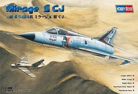 HobbyBoss Mirage III CJ Plastic Model Airplane Kit 1/48 Scale #80316