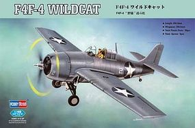 HobbyBoss F4F-4 Wildcat Plastic Model Airplane Kit 1/48 Scale #80328