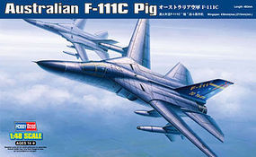 HobbyBoss F-11C Pig Australian Plastic Model Airplane Kit 1/48 Scale #80349