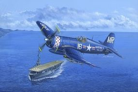 HobbyBoss F4U-4B Corsair Plastic Model Airplane Kit 1/48 Scale #80388