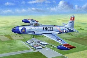 HobbyBoss F-80A Shooting Star Plastic Model Airplane Kit 1/48 Scale #81723