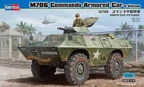 HobbyBoss M706 Commando Armored Car Plastic Model Military Vehicle Kit 1/35 Scale #82418