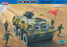 HobbyBoss ZSL-92A APC Chinese Plastic Model Military Vehicle Kit 1/35 Scale #82455