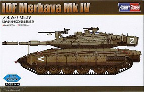 HobbyBoss IDF Merkava MK.IV Plastic Model Military Vehicle Kit 1/72 Scale #82915